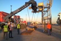 Rumo amplia importação de trilhos para manter as linhas férreas no País