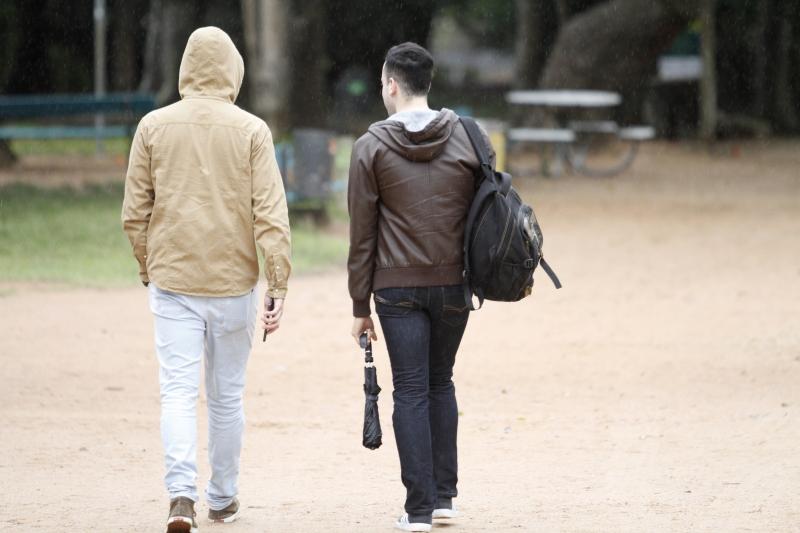 Marcas baixaram mais de 10 graus entre sábado e domingo em Porto Alegre