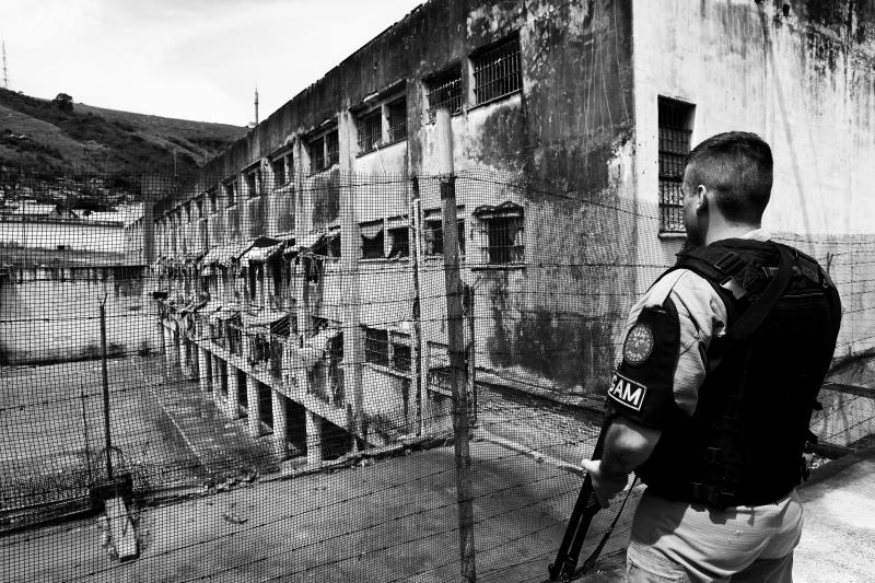 Em 1995, a BM se tornou a única força militar do País a administrar penitenciárias