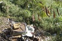 Focos de lixo persistem no Morro Santana
