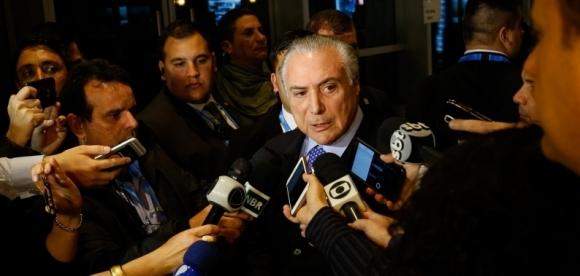 (Mendoza - Argentina, 20/07/2017) Presidente Michel Temer durante coletiva de imprensa com jornalistas no Hotel Sheraton. Foto: Alan Santos/PR