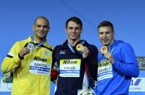 Nicholas Santos conquista a prata nos 50m borboleta no Mundial de Esportes Aquáticos