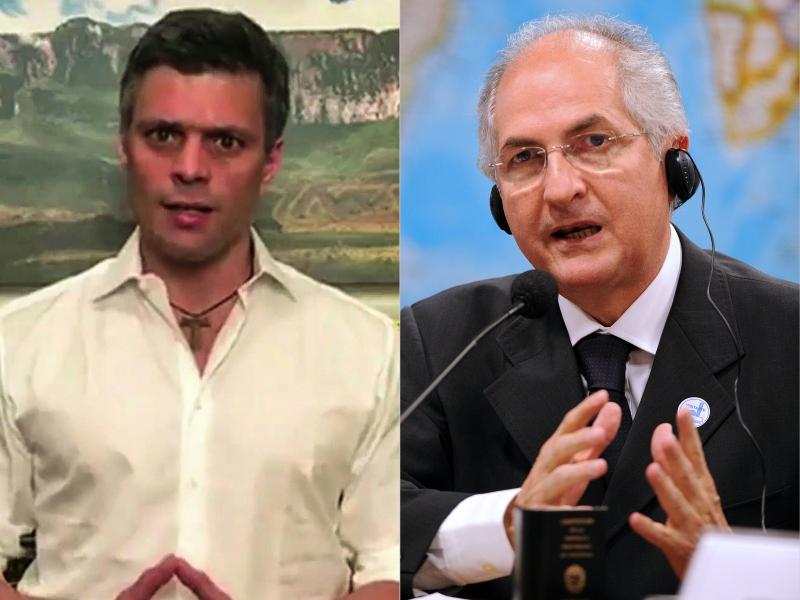 Opositor ao regime venezuelano regressou à prisão domiciliária