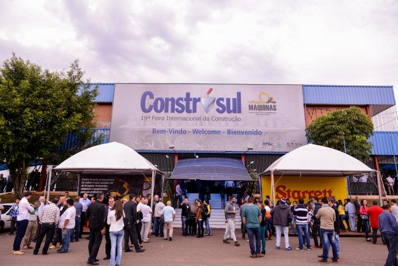Construsul reunirá 300 empresas expositoras