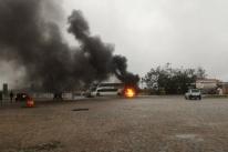 Caminhoneiros protestam em rodovias do Rio Grande do Sul