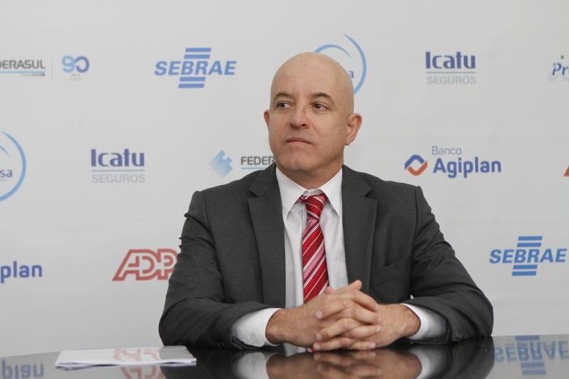 Antonio Batista da Silva Junior falou a empresários gaúchos
