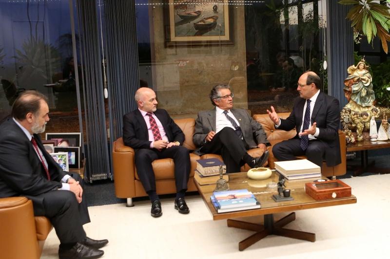 Sartori se reuniu na terça-feira com o ministro Marco Aurélio Mello