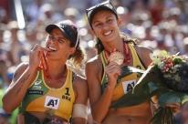 Larissa e Talita levam o bronze no Mundial de Vôlei de Praia