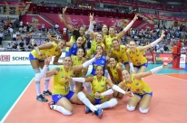 Brasil bate Itália em cinco sets e conquista o Grand Prix pela 12ª vez