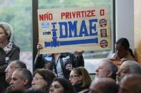 Privatização do Dmae não pode elevar tarifa, sustenta André Carús