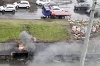 Secretária nega retirada forçada de moradores das margens do Dilúvio em Porto Alegre