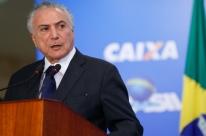 Não parece muito, mas foram R$ 44 bilhões, diz Temer, em cerimônia sobre FGTS