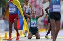 Brasileiro conquista medalha inédita na marcha atlética