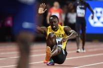 Usain Bolt sente lesão e não completa última prova da carreira