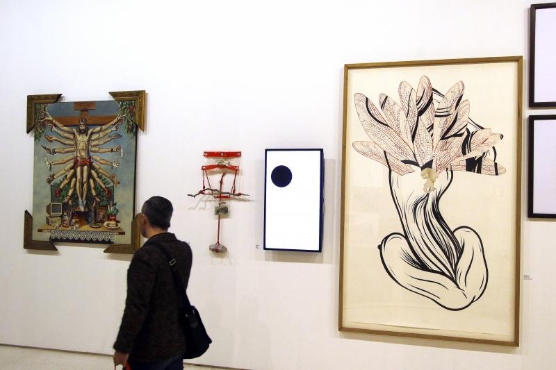 Exposição estava em cartaz desde a metade de agosto no Santander Cultural