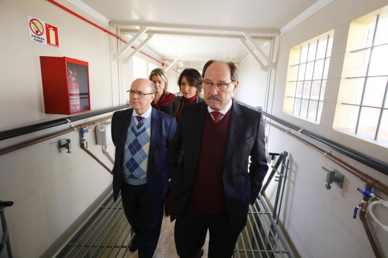 Governador José Ivo Sartori e Schirmer visitaram novo CT em Porto Alegre