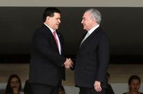 Em nova gafe, Temer confunde Paraguai com Portugal