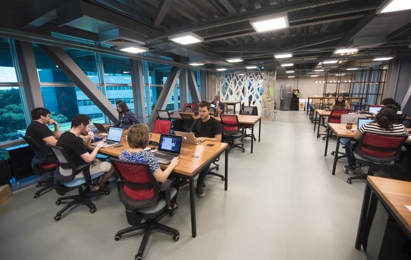 Ambientes de inovação, como o Tecnopuc, reúnem empreendedores que estão construindo o futuro