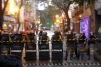 BM bloqueia rua e prepara despejo de ocupantes de Hotel Açores