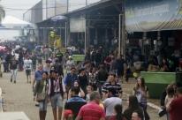 Quase 115 mil pessoas visitam a feira no fim de semana