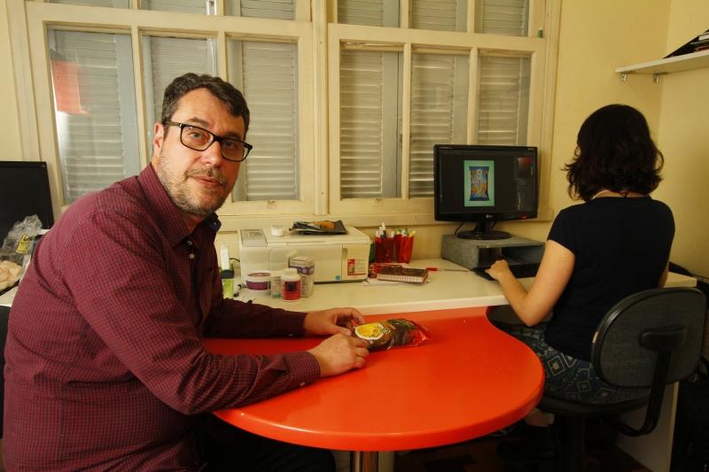 Antônio Borowski especializou-se em trabalhar a aparência dos itens