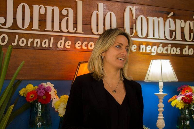 Simone Leite anunciou a novidade em visita à Casa JC, na Expointer
