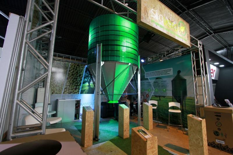 Silo Verde é desenvolvido a partir de polímeros reciclados de alta resistência