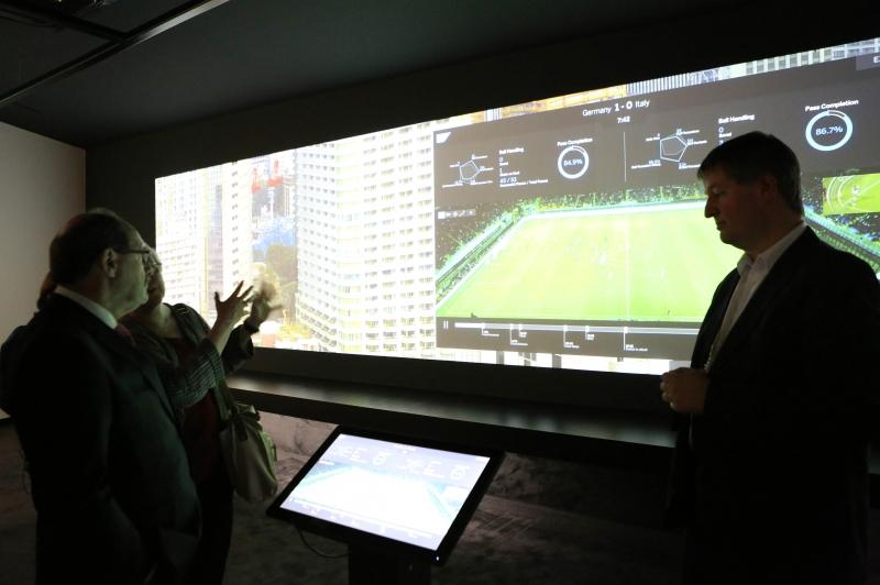Sartori visitou instalações da gigante de softwares empresariais