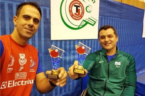 Brasil conquista duas medalhas em torneio de tênis de mesa paraolímpico