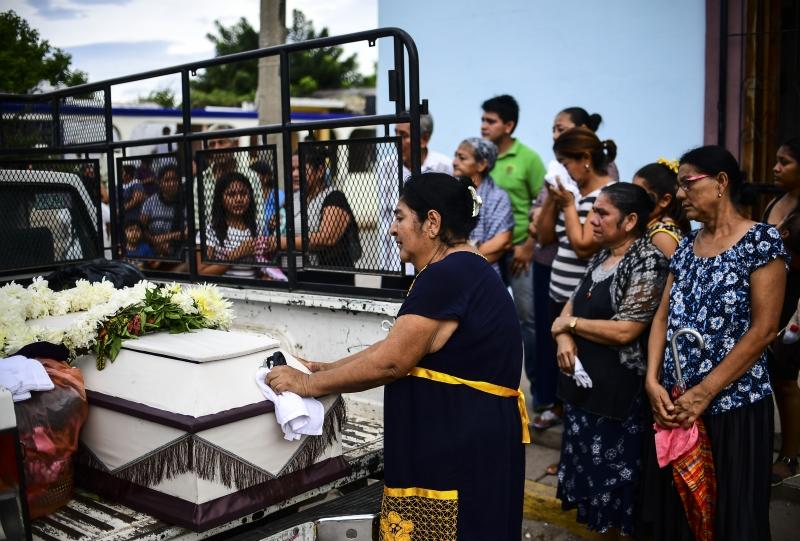 Foram registradas 71 mortes somente no estado de Oaxaca, no sul do país