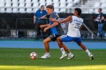 Luan e Geromel não treinam, mas Portaluppi faz mistério sobre dupla no Grêmio