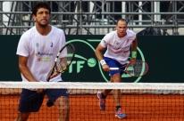 Ausência de Nishikori anima Brasil para voltar à elite da Copa Davis