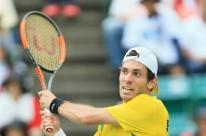 Clezar é multado pela ITF por gesto discriminatório em jogo da Copa Davis