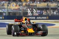 Ricciardo lamenta 3ª posição no grid e diz que esperava a pole em Cingapura