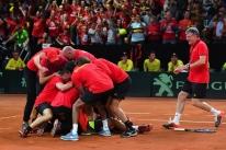 França e Bélgica vão decidir o título da Copa Davis
