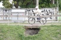 Ciclovia da Ipiranga está longe de ser finalizada