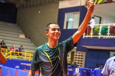 Brasil conquista cinco ouros em Pan-Americano de tênis de mesa