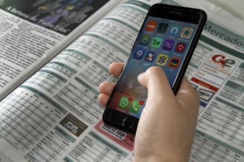 Consolidação das compras on-line e mais acesso aos aplicativos de bancos