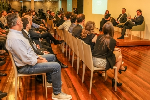Evento Conexões Rio Grande do Sul, organizado pelo Instituto Endeavor Brasil no Instituto Ling, em Porto Alegre