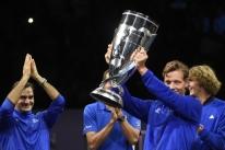 Federer vence Kyrgios de virada e garante título da Laver Cup para time europeu