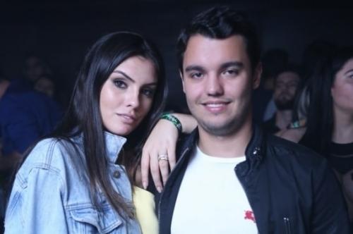 Marina Mota e Ivo Penz curtiram a festa  Funk Me, na WA Eventos