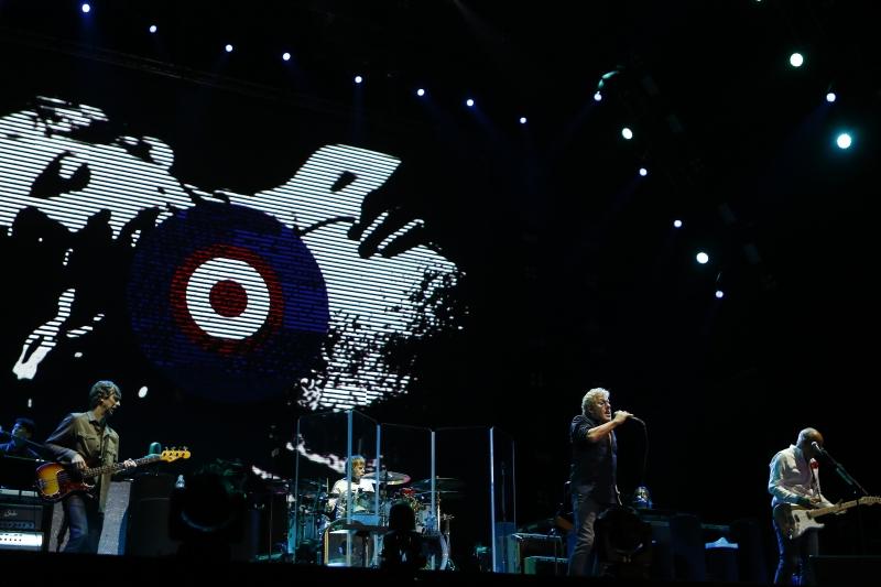 Em boa forma e com muito bom humor, o The Who fez um show de rock enérgico e vibrante