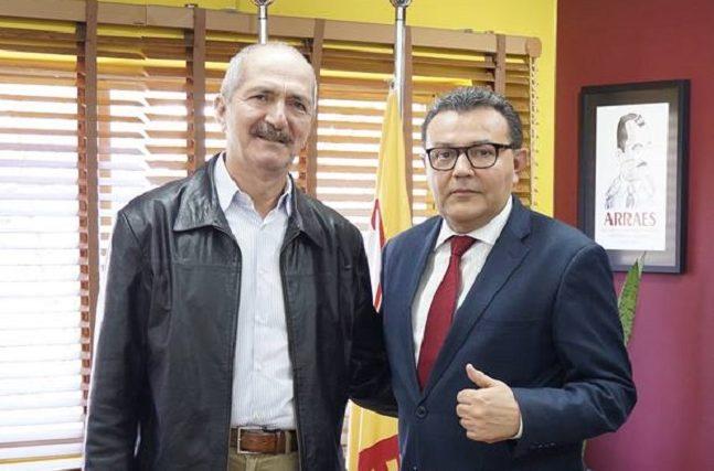 Rabelo (e) é apontado como 'coringa' para o partido nas eleições de 2018
