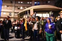Protesto no HPS em Porto Alegre alerta para mudanças na carreira
