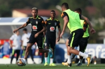 Seleção brasileira faz primeiro treinamento em Teresópolis sem definição de time
