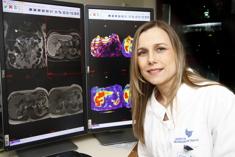 Alice reforça que experiência é demonstrada com exames de excelente qualidade