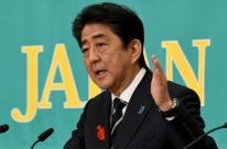 Premiê do Japão diz apoiar completamente pressão dos EUA sobre Coreia do Norte