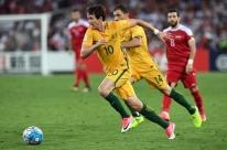 Austrália vence com gol na prorrogação e encerra sonho da Síria de ir à Copa
