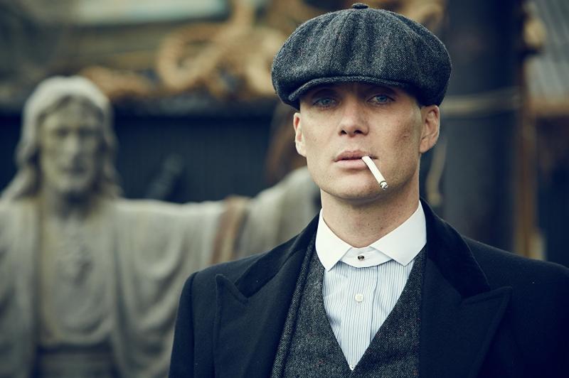 Cillian Murphy protagoniza a série Peaky Blinders