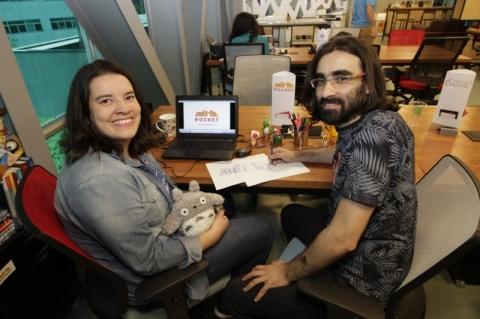 O negócio, criado por Adriana Germani e Alexandre Linck, está incubado na Raiar, da Pucrs